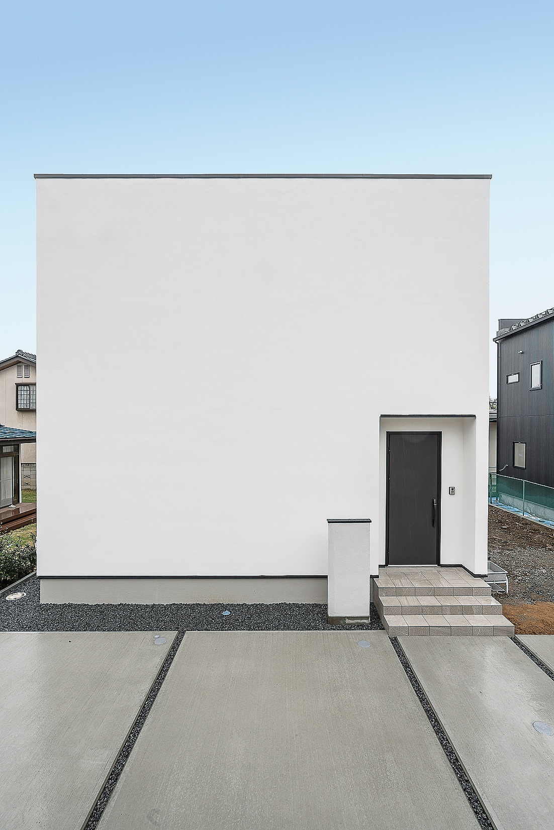 シンプルで美しい、四角い家~最上級のミニマムスタイル~