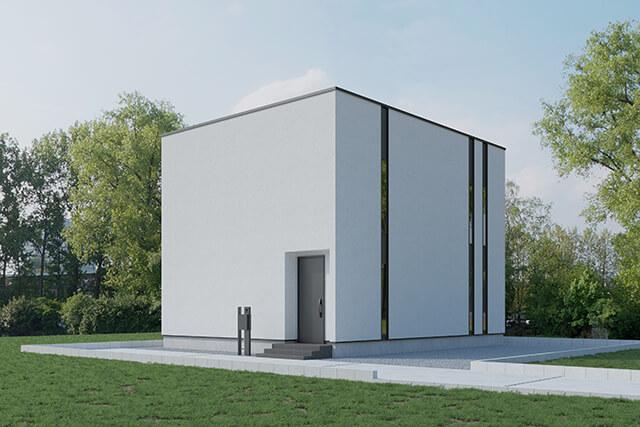casa cube 外観イメージ